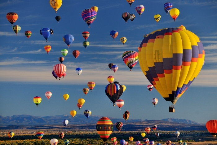 hot-air-balloons