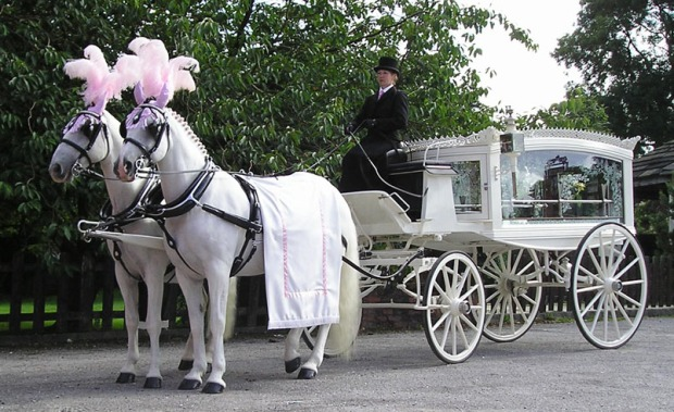 horse drawn funeral