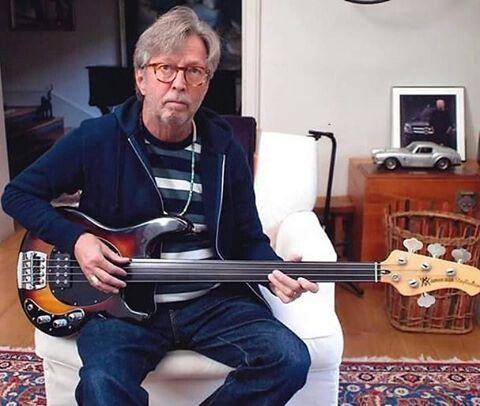 eric clapton fretless bass