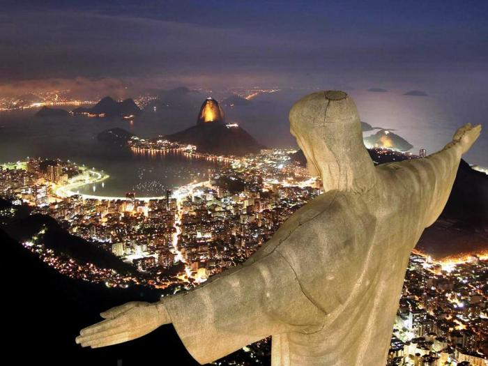 rio night christ