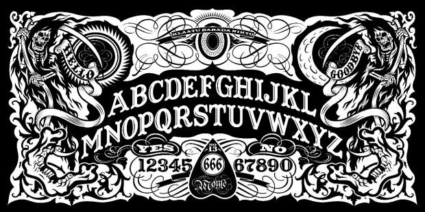 scary ouija board