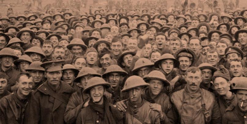 the somme soldiers